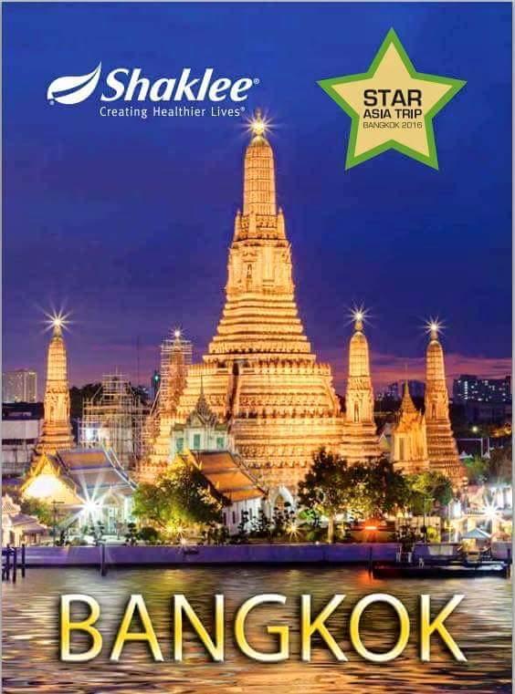 trip bangkok shaklee