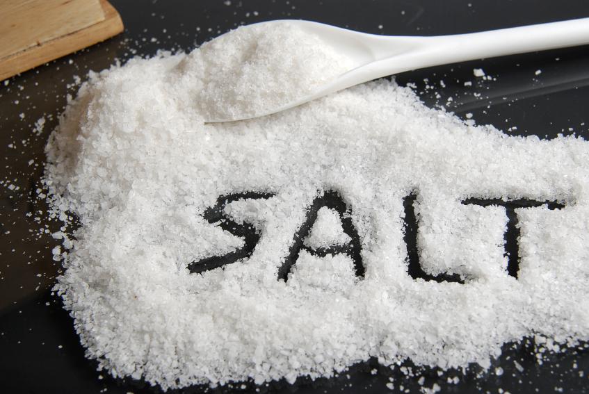 ulser sembuh dengan garam