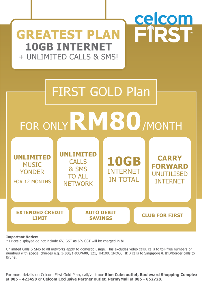 celcom-first-one-gold-plan